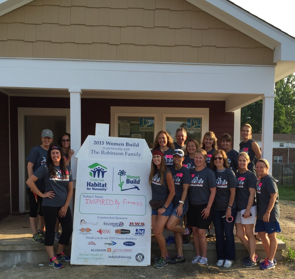 Team Inspired By Fitness Habitat For Humanity All Women's Build Day