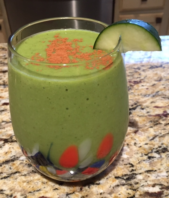 March Madness Power Greens Smoothie