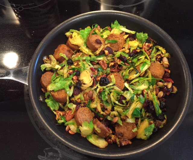 5 Minute Vegan Hash - Delicious!